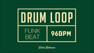 Funk Drum Loop 96 BPM