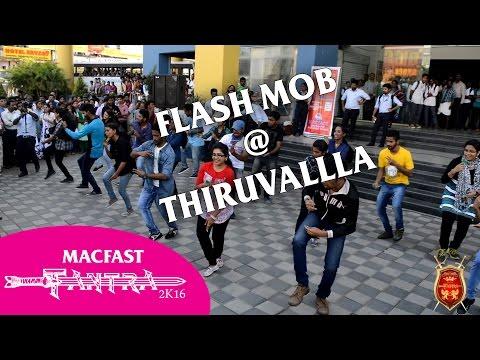 TANTRA 2K16 Flash Mob @  KSRTC Hub  - MACFAST Tiruvalla