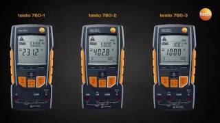 Multimetro digitale testo 760
