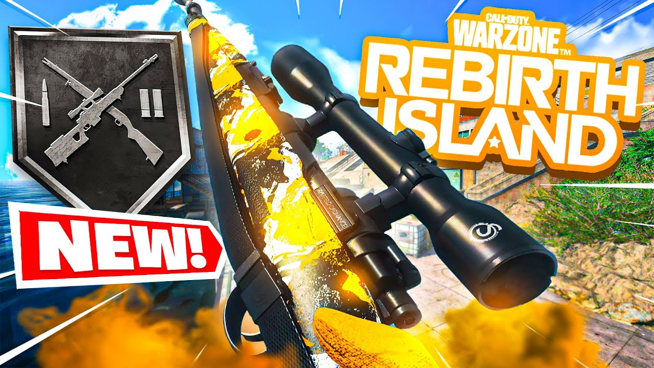 Download the NEW SNIPERS PLAYLIST on REBIRTH ISLAND😱! (Cold War Warzone)