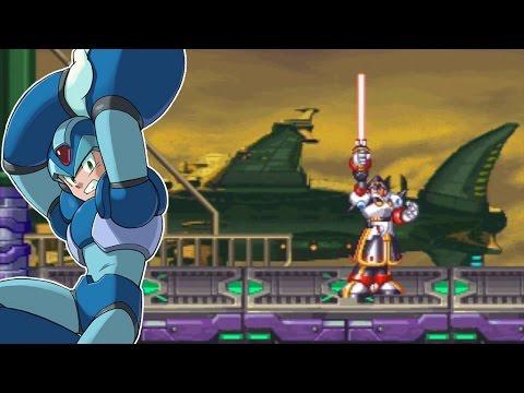 Rockman X4 | X - Space Port (Colonel Stage 2) [10/13]