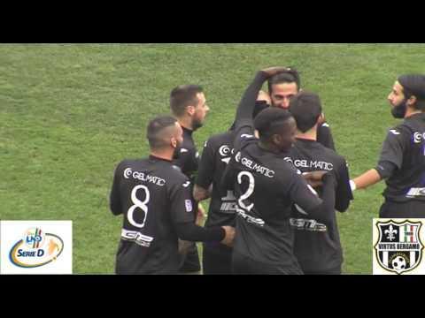 Pontisola-Virtus Bergamo 1909 1-2, 14esima d'andata girone B Serie D 2016/2017