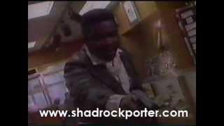 Shadrock Porter in T.V series Top Cops 1