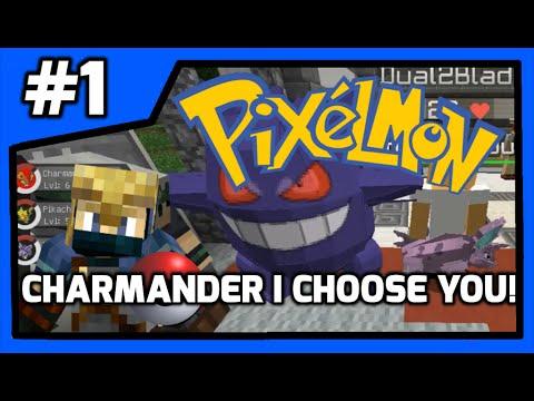 Rc pixelmon s1 kanto region episode 1 charmander i - Pixelmon ep 1 charmander ...