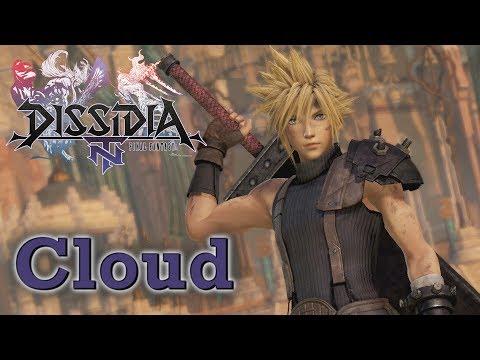 Dissidia Final Fantasy NT Closed Beta [PS4] - Cloud
