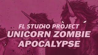 Borgore & Sikdope - Unicorn Zombie Apocalypse (FL Studio Remake + Free FLP)