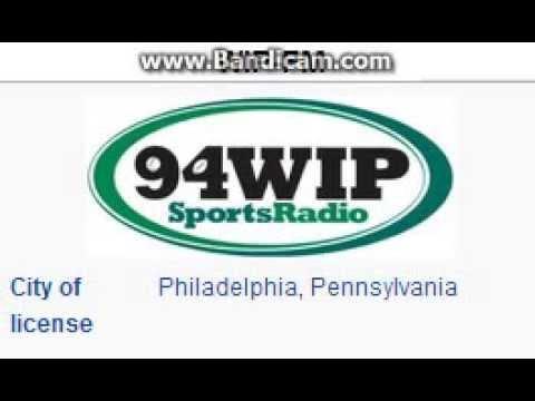 WIP-FM 94.1 Sportsradio 94 WIP Philadelphia, PA TOTH ID at 5:00 a.m. 10/19/2014