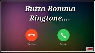 Butta Bomma+ iPhone Ringtone | New Telugu Ringtone | Butta Bomma Ringtone | New  iPhone Ringtone