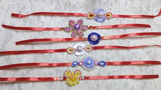 5 d.i.y quilling rakhi making for rakhi festival