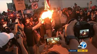 George Floyd death: Violent protests continue from Minnesota to Southern California | ABC7