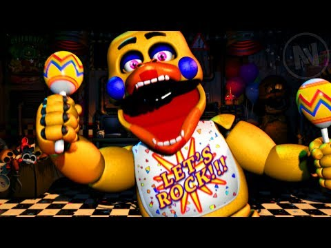 All Rockstar Chica Quotes / Voice Lines (Five Nights At Freddy's Ultimate Custom Night)