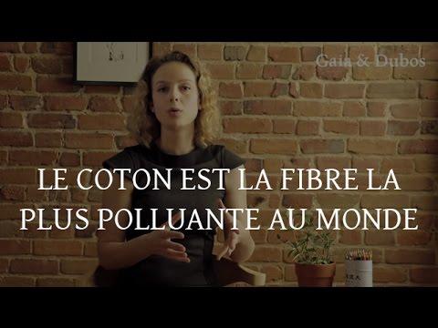 le coton est la fibre la plus polluante au monde