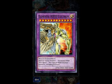Yugioh Duel Links - Summon Divine Neos & Electrum both on the Field