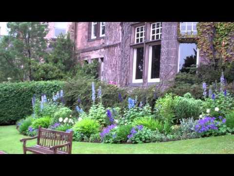Garden And Mansion House Zoo Edinburgh Scotland