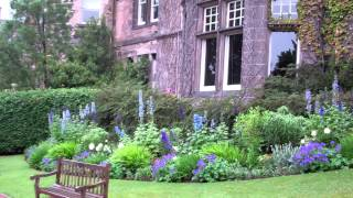 Garden And Mansion House Zoo Edinburgh Scotland