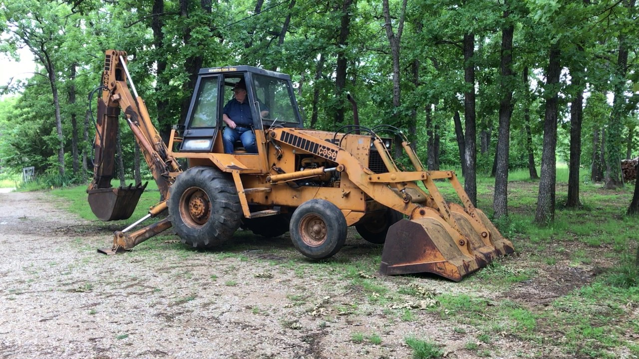 hight resolution of 1976 case 680e construction king backhoe with bucket loader