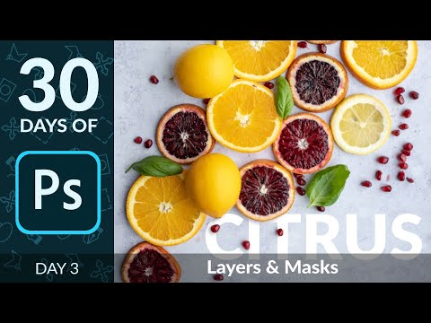 How to Use Layers & Masks in Photoshop | Day 3