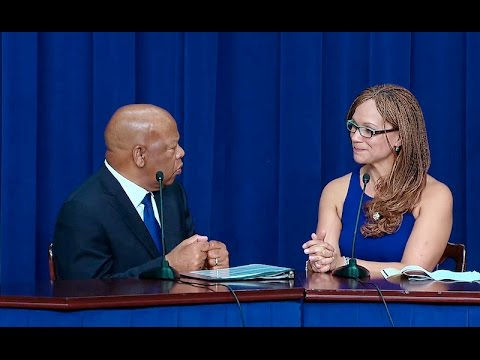 Congressman John Lewis and Melissa Harris-Perry Talk About Voting Rights