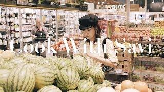Cook with Savi06丨阳春面丨牛肉饭丨蔬菜三明治丨Savislook