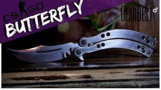 FACA BUTTERFLY - GearBest