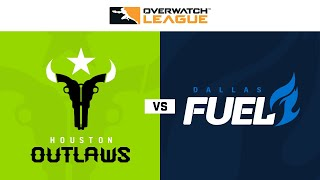 Houston Outlaws vs Dallas Fuel | Week 24 | NA Day 1