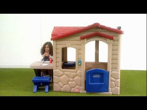 Little Tikes | Picnic on the Patio Playhouse - YouTube