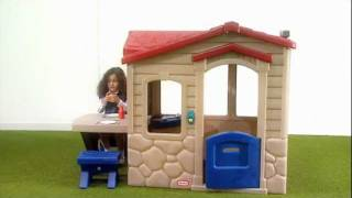 Good Little Tikes Picnic On The Patio Playhouse 403U Kids Play Australia