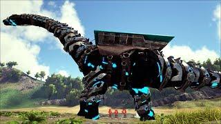 ARK SURVIVAL EVOLVED #81: Brontosaurus khổng lồ và nghĩa địa khủng long