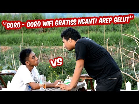 HEBOOHH !!! GORO - GORO WIFI GRATIS NGANTI AREP GELUT - Nyekiklik episode 2 ( Film Pendek Cah Pati )