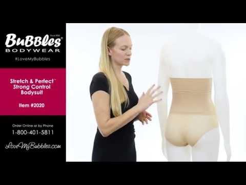 Bubbles Bodywear Stretch & Perfect™ Strong Control Bodysuit