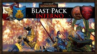 BLAST PACK INFERNO! Total War: Warhammer Gameplay
