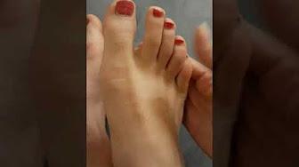 Kobiece stopy Mężczyźni kochają