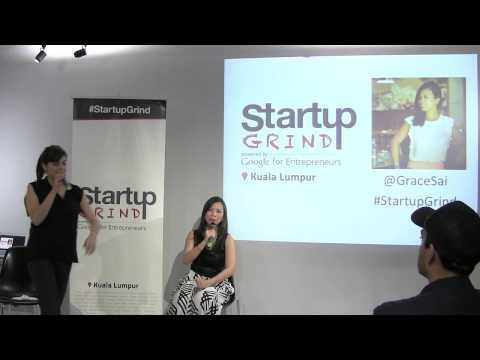 Grace Sai (Impact Hub Singapore) at Startup Grind Kuala Lumpur