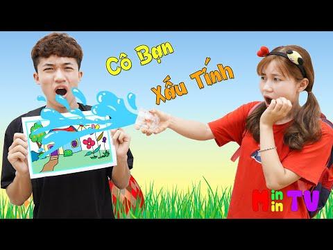 Bài Học Dạy Bé Biết Nhận Lỗi ♥ Min Min TV Minh Khoa