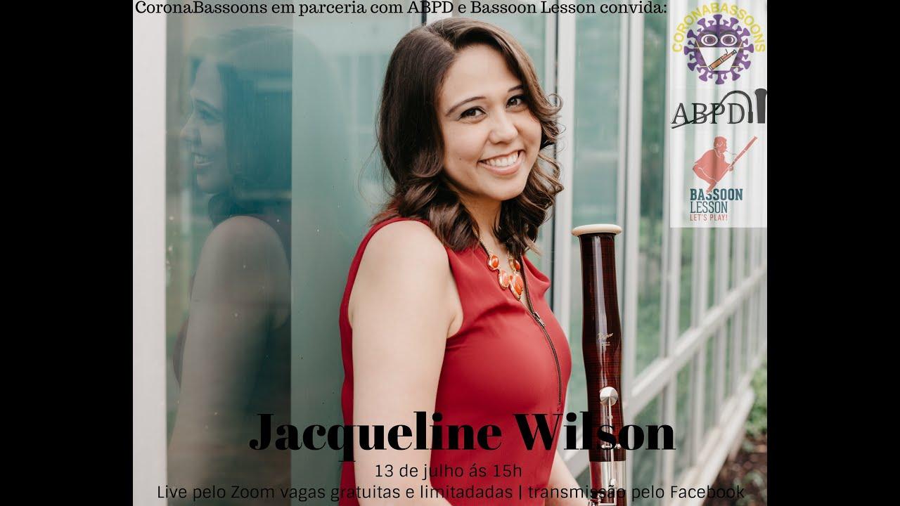 Live com a professora Jacqueline Wilson