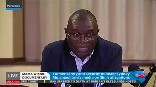 Sydney Mufamadi on the accusations made against him in the #Winnie documentary