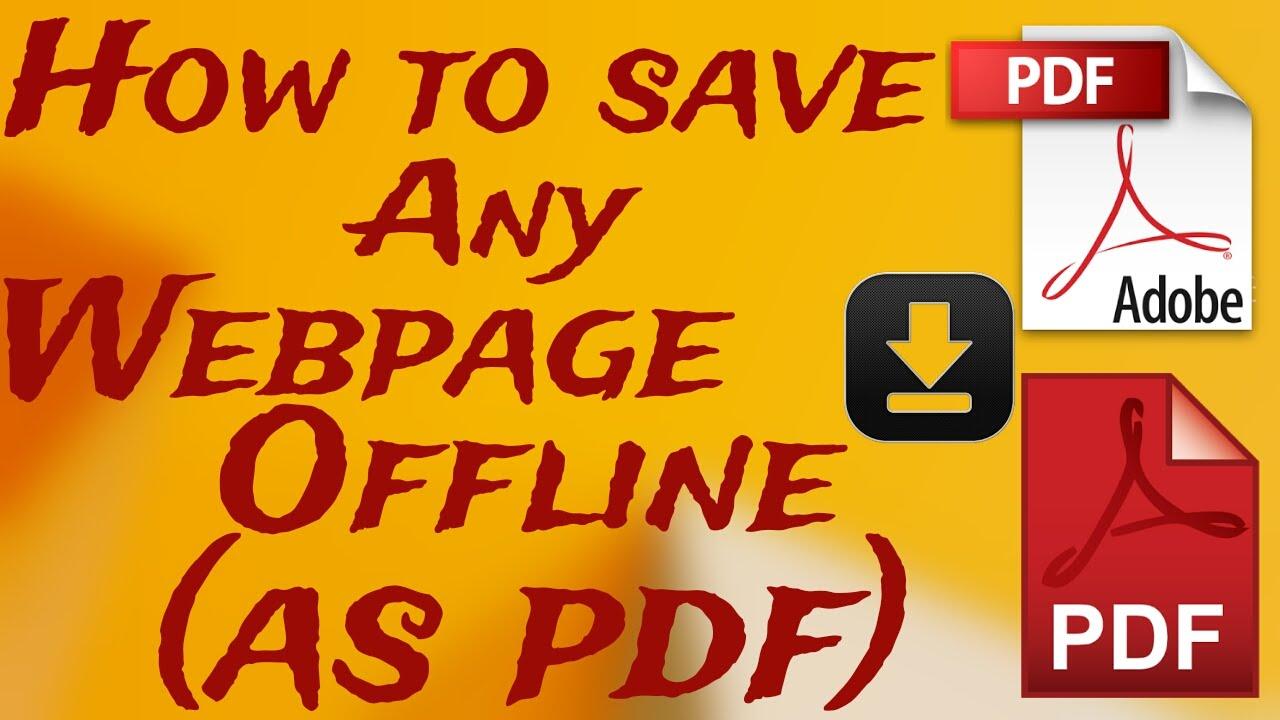 Website Offline Pdf