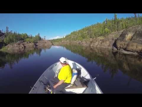 TOURING A SCENIC PART OF LAKE ATHABASCA