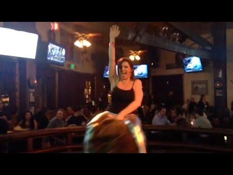 Sara Jay Rides A Bull