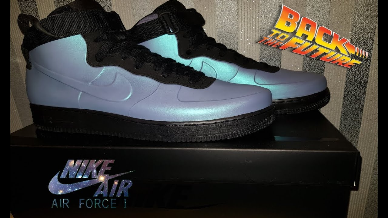 9657c9955c2 Nike Air Force 1 Foamposite Cupsole Review 4K - YouTube