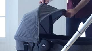 Mima Zigi - стильная компактная коляска 2в1 для новорожденных