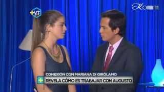 MVT || Augusto Schuster se conecta con Mariana Di Girolamo - 15.1.2015