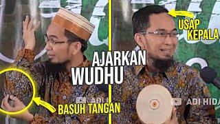 Download UST. ADI Ajarkan Wudhu yang BENAR & Jelaskan RAHASIANYA - Ustadz Adi Hidayat LC MA