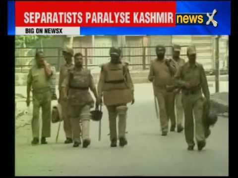 Shutdown contines in Jammu and Kashmir
