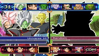 Baixar Universe 10 VS Five Random | Dragon Ball Z Budokai Tenkaichi 3