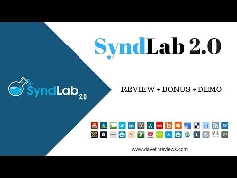 Syndlab 2.0 Review & Demo || Syndlab 2.0 NEW way to get Page #1 rankings in 48 hours FLAT./ http://bit.ly/2PlLNR0