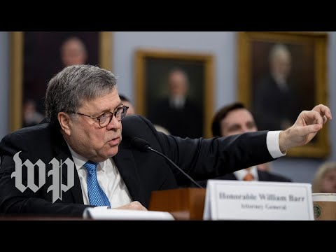 Watch: Attorney General Barr discusses Mueller report before Senate committee