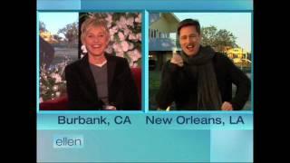 Ellen and Brad Pitt Help New Orleans