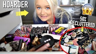 EXTREMELY RUTHLESS MAKEUP DECLUTTER (everything must go) pt. 3