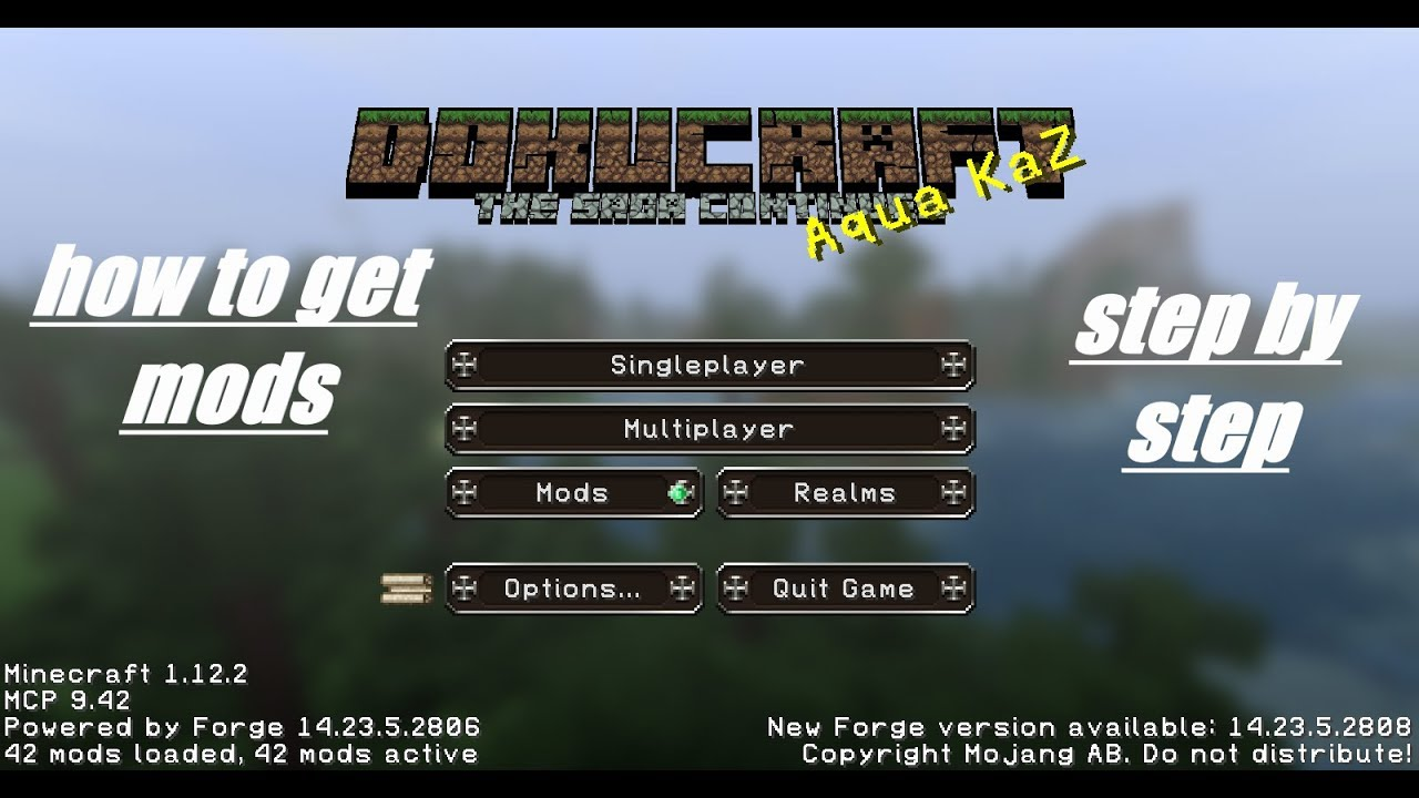 How To Get Install Mods On Minecraft Pc Java Edition Complete Step By Step Tutorial 1 12 2 Update Youtube